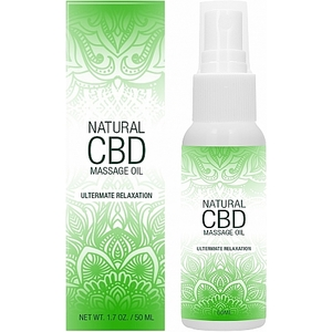 NATURAL CBD ACEITE DE MASAJE 50 ML
