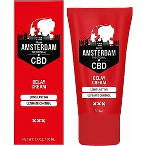CBD FROM AMSTERDAM CREMA RETARDANTE 50 ML