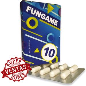 FUNGAME 10 CÁPSULAS
