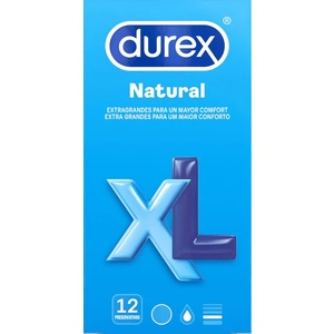 DUREX NATURAL XL 12 UDS