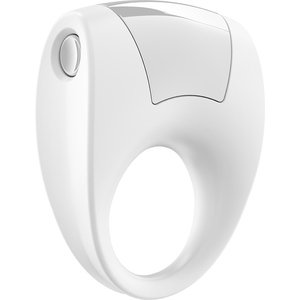 OVO B8 VIBRATING RING WHITE