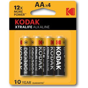 KODAK XTRALIFE ALKALINE AA - 20 PACKS DE 4UDS