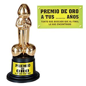 PREMIO DE ORO A TUS ... AÑOS