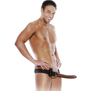 FETISH FANTASY ARNES HUECO AJUSTABLE CHOCOLATE 23 CM. CON VIBRADOR