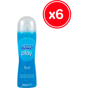 DUREX PLAY FEEL 50 ML (6 UDS)