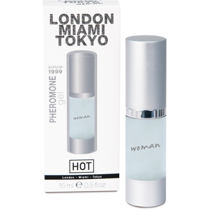 HOT GEL DE FEROMONAS PARA MUJER 15 ML