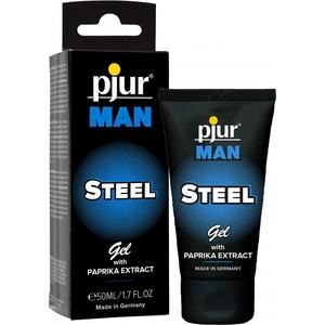PJUR MAN STEEL GEL 50ML TUBE