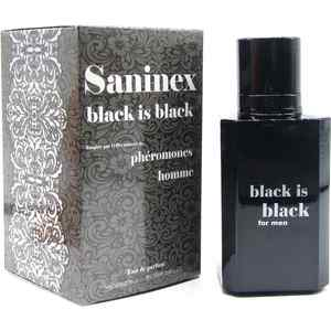 SANINEX PERFUME PHÉROMONES BLACK IS BLACK MEN