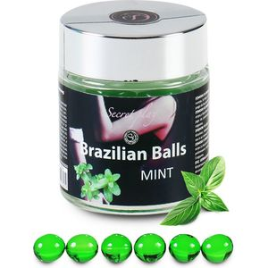 SECRET PLAY TARRO 6 BRAZILIAN BALLS MENTA