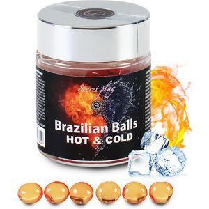 SECRET PLAY TARRO 6 BRAZILIAN BALLS FRÍO/CALOR