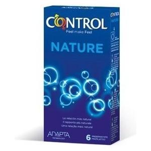 PRESERVATIVOS CONTROL NATURE 6UDS