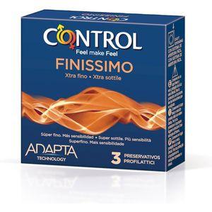 PRESERVATIVOS CONTROL FINISSIMO 3UDS