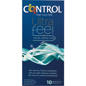 PRESERVATIVOS CONTROL ULTRAFEEL 10 UDS