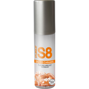 S8 LUBRICANTE SABORES 50ML - CARAMELO