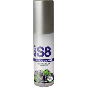 S8 LUBRICANTE SABORES 125ML - GROSELLA NEGRA