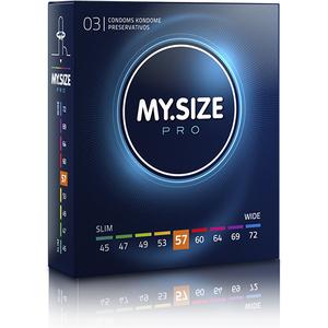 MY SIZE PRESERVATIVOS 57MM - 3UDS