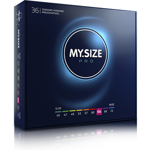 MY SIZE PRESERVATIVOS 64MM - 36UDS