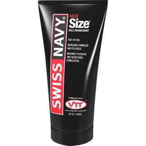 SWISS NAVY MAXSIZE CREMA POTENCIADORA 150ML