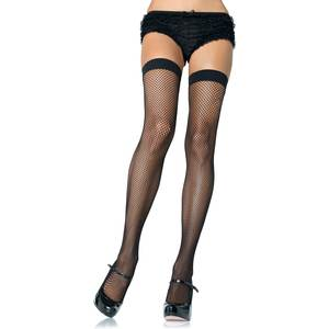 LEG AVENUE MEDIAS DE RED DE NYLON
