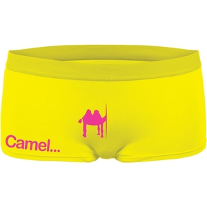 FUNNY HIPSTERS CULOTTE CAMEL
