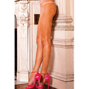 BACI PANTIES DE RED TIPO DIAMANTE ROSA
