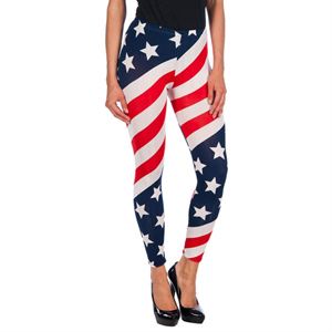 INTIMAX LEGGINS USA RED