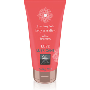 LOVE LUBRICANTE COMESTIBLE FRESA 75ML