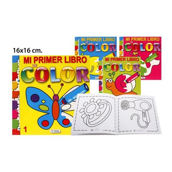 MI PRIMER LIBRO DE COLOR MODELOS SURTIDOS, SALDAÑA, 16X6CM.