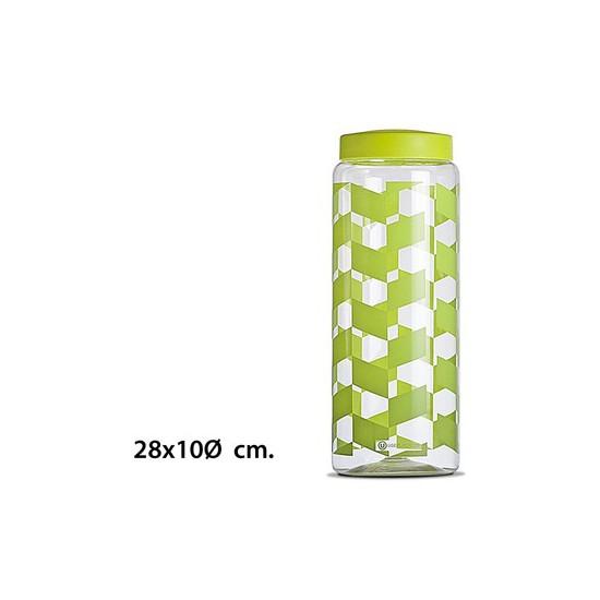 TARRO ESPAGUETTI, USE PLASTICOS, -DEKOR-, 28X10CM.
