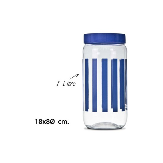 TARRO, USE PLASTICOS, -DEKOR-, 1L.