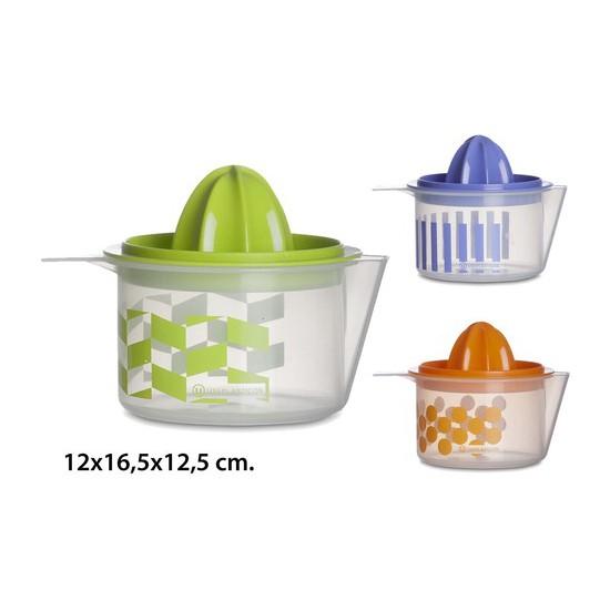 EXPRIMIDOR, USE PLASTICOS, -DEKOR-, 12X16,5X12,5CM.