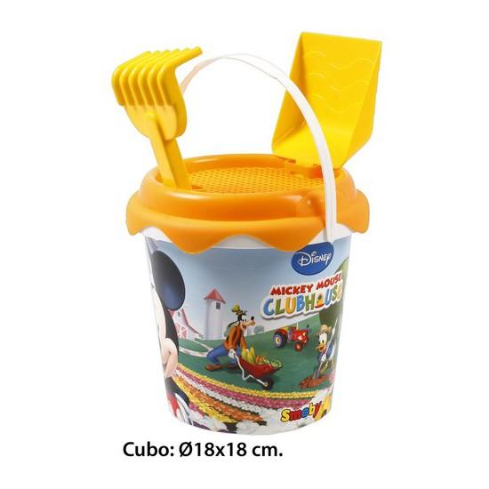 Cubo de playa, aquapro, -mickey-, 3 piezas | CasayTextil