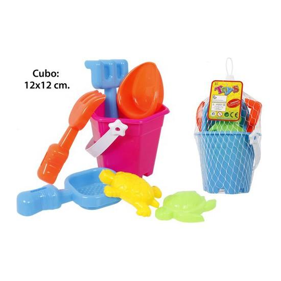 Cubo playa con accesorios, aquapro, 7 piezas | CasayTextil