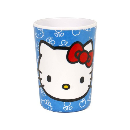VASO MELAMINA, HELLO KITTY, 210ML.