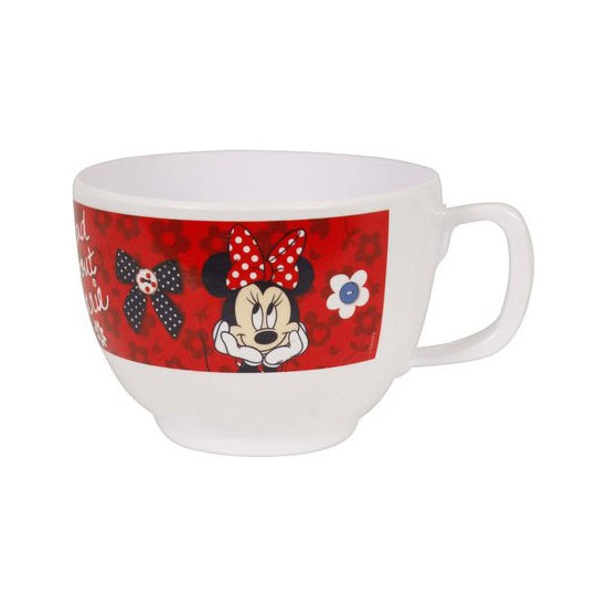TAZA JUMBO MELAMINA, DISNEY, -MINNIE-, 680ML.