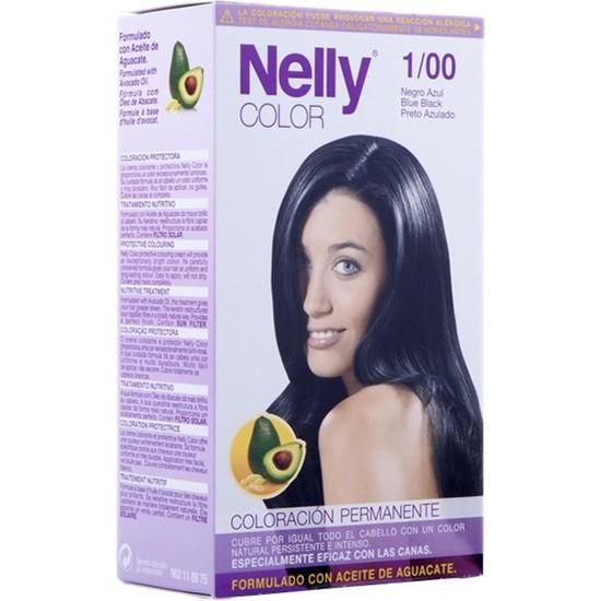 SET TINTE NELLY - 1/00 NEGRO AZUL
