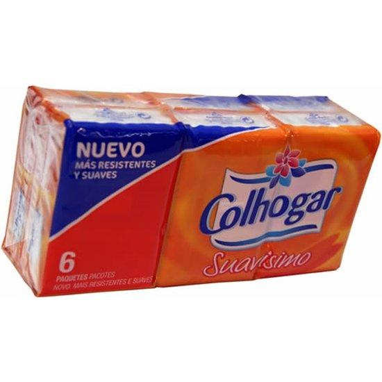 PAÑUELOS COLHOGAR BOLSILLO X 6