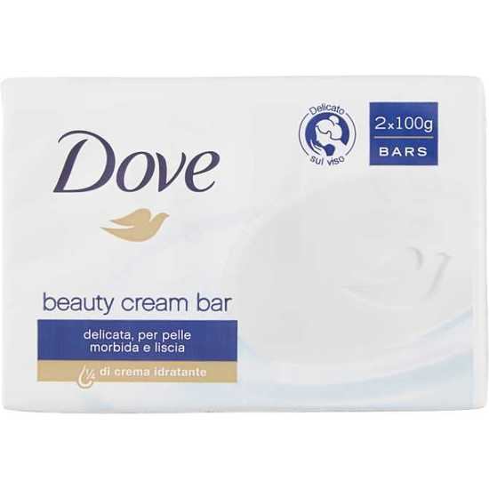 DOVE SOAP 2X100G ORIGINAL BEAUTY CREAM