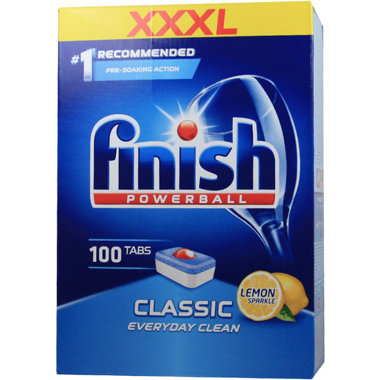 FINISH POWERBALL CLASSIC 100´S LIMÓN - 100 UDS