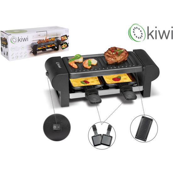 PLANCHA GRILL/RACLETTE 350W 205X105