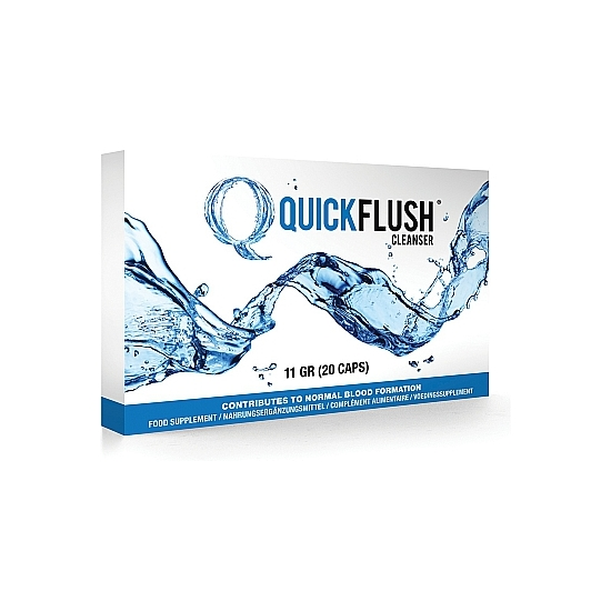QUICK FLUSH 20 CÁPSULAS