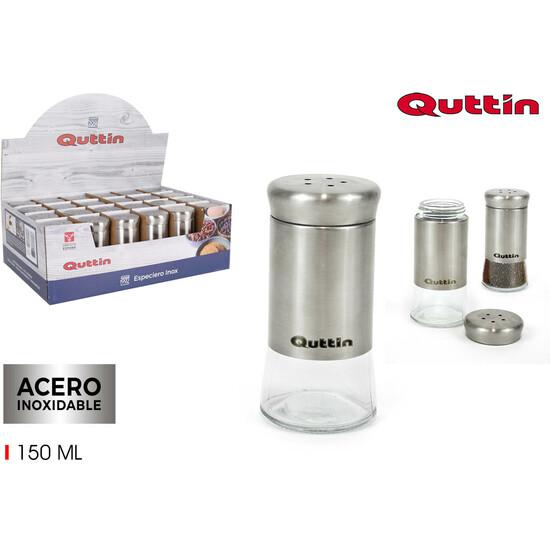 ESPECIERO INOX 150ML QUTTIN