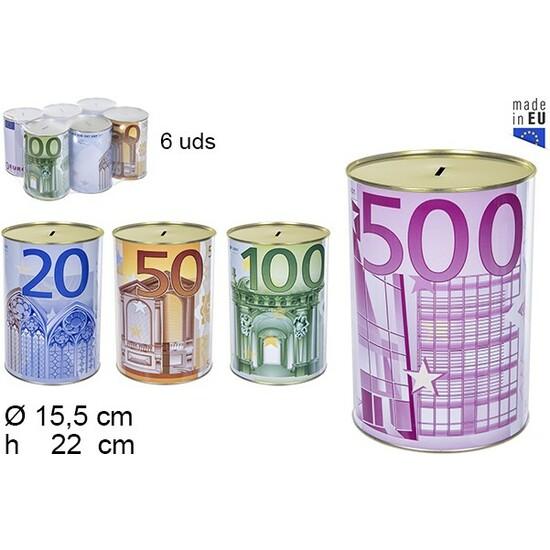 HUCHA METAL EURO 15X22CM
