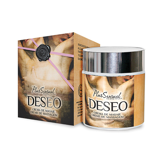 SECRET PLAY PLUS SENSUEL CREMA DE MASAJE DESEO (TALLA ST) (COD. 16959)