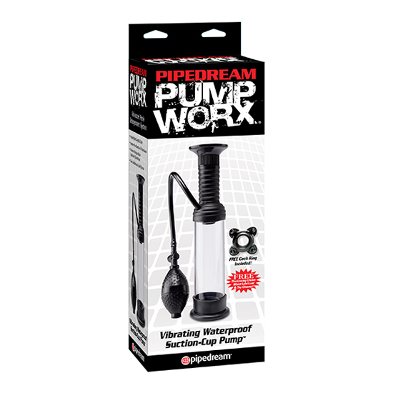 PUMP WORX BOMBA DE SUCCION CON VIBRACION