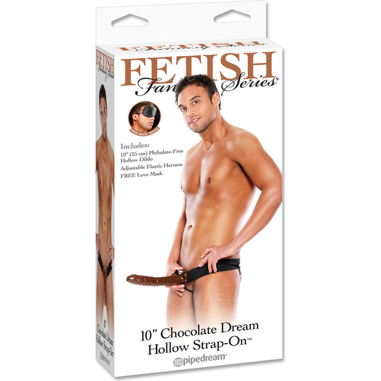 FETISH FANTASY ARNES HUECO AJUSTABLE CHOCOLATE 22 CM. (1)