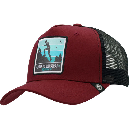 GORRA TRUCKER BORN TO ULTRATRAIL ROJO THE INDIAN FACE PARA HOMBRE Y MUJER