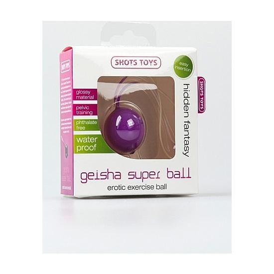 SUPER BOLA GEISHA LILA (1)