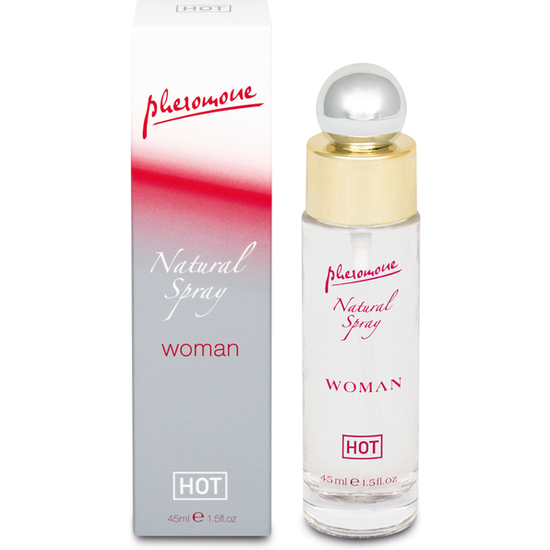 HOT SPRAY CON FEROMONAS PARA MUJER
