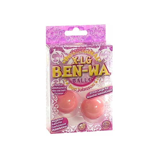 THE ORIGINAL BEN WA BALLS XL BOLAS CHINAS ROSAS (1)